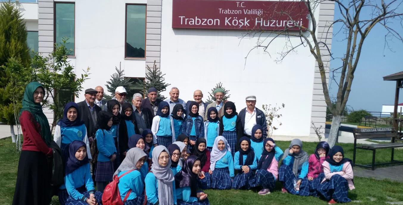 Arsin Yeşilyalı İmam-Hatip Ortaokulu'ndan Anlamlı Ziyaret