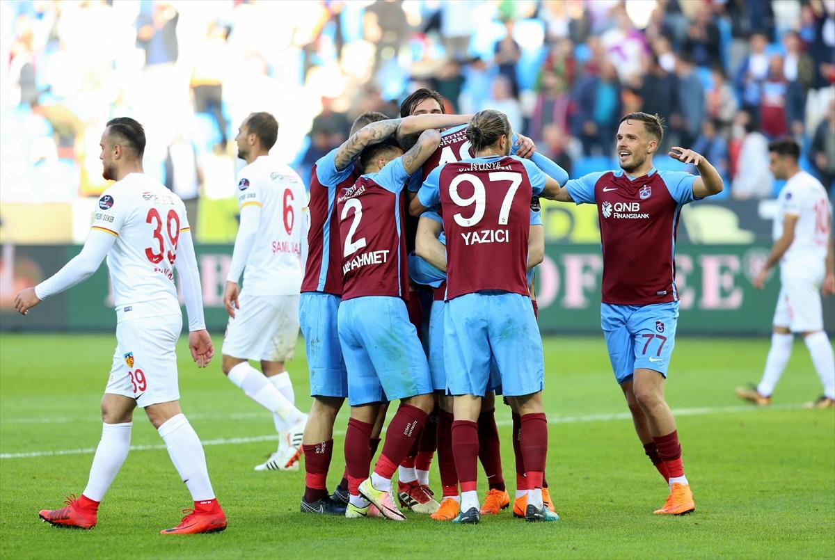 Trabzonspor hedefe kilitlendi