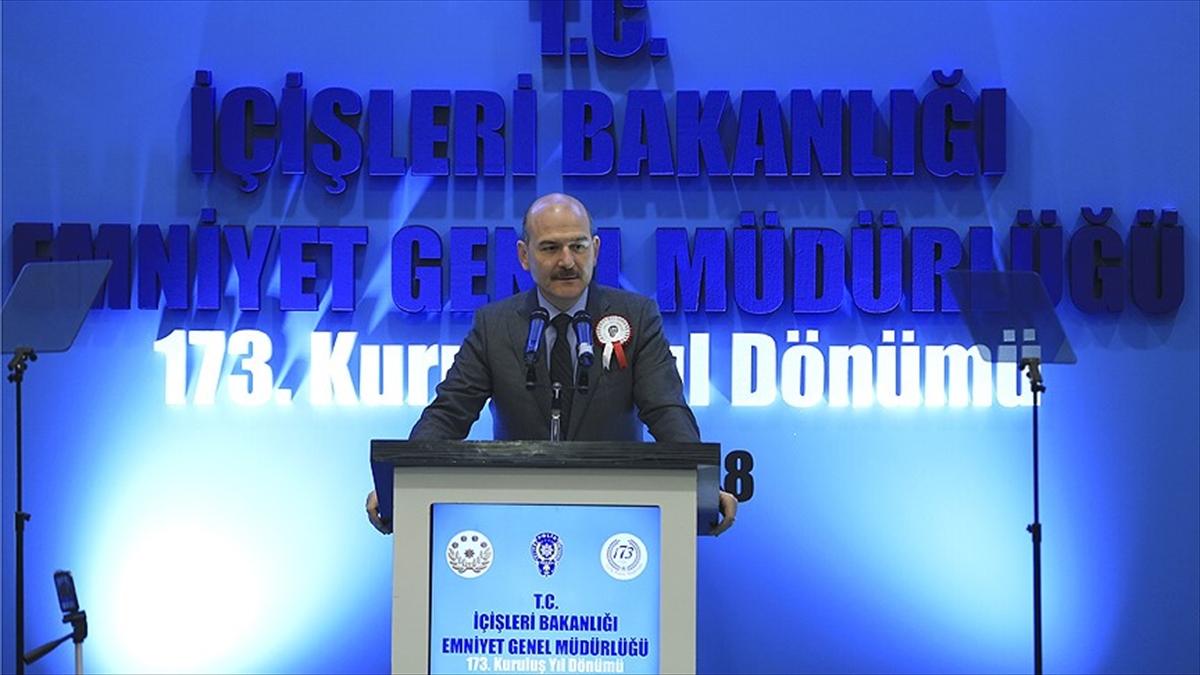 İçişleri Bakanı Soylu: Polisimiz milletin imdadına koşmaya devam edecek