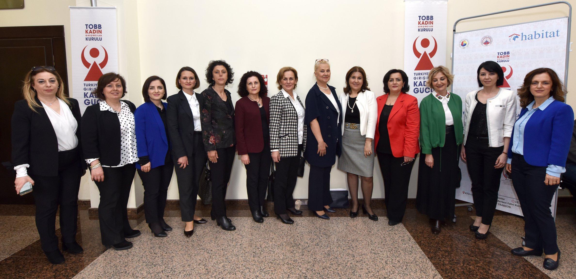 Türkiye'nin girişimci kadınları Trabzon'da buluştu