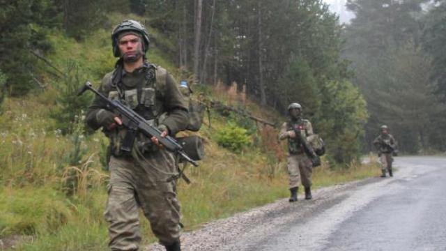 Trabzon kırsalında teröristlerle sıcak temas!
