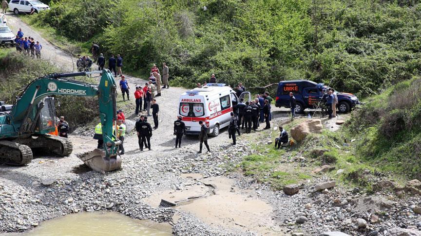 Trabzon'da kaybolan polisin cenazesi bulundu