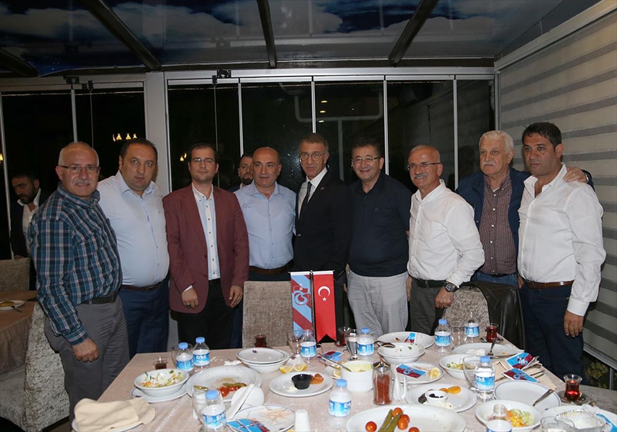 Trabzonspor'da iftar organizasyonu