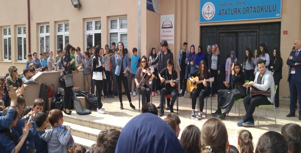 Arsinli Öğrencilere Kardeş Okul Süprizi