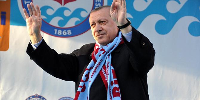 Trabzonspor'dan Erdoğan'a tebrik