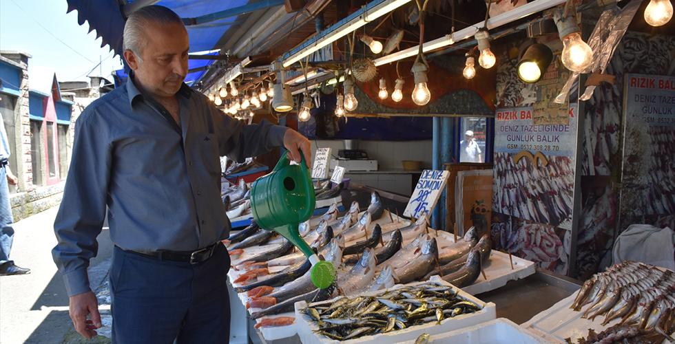 Balıkçılar ramazanda satışlardan memnun