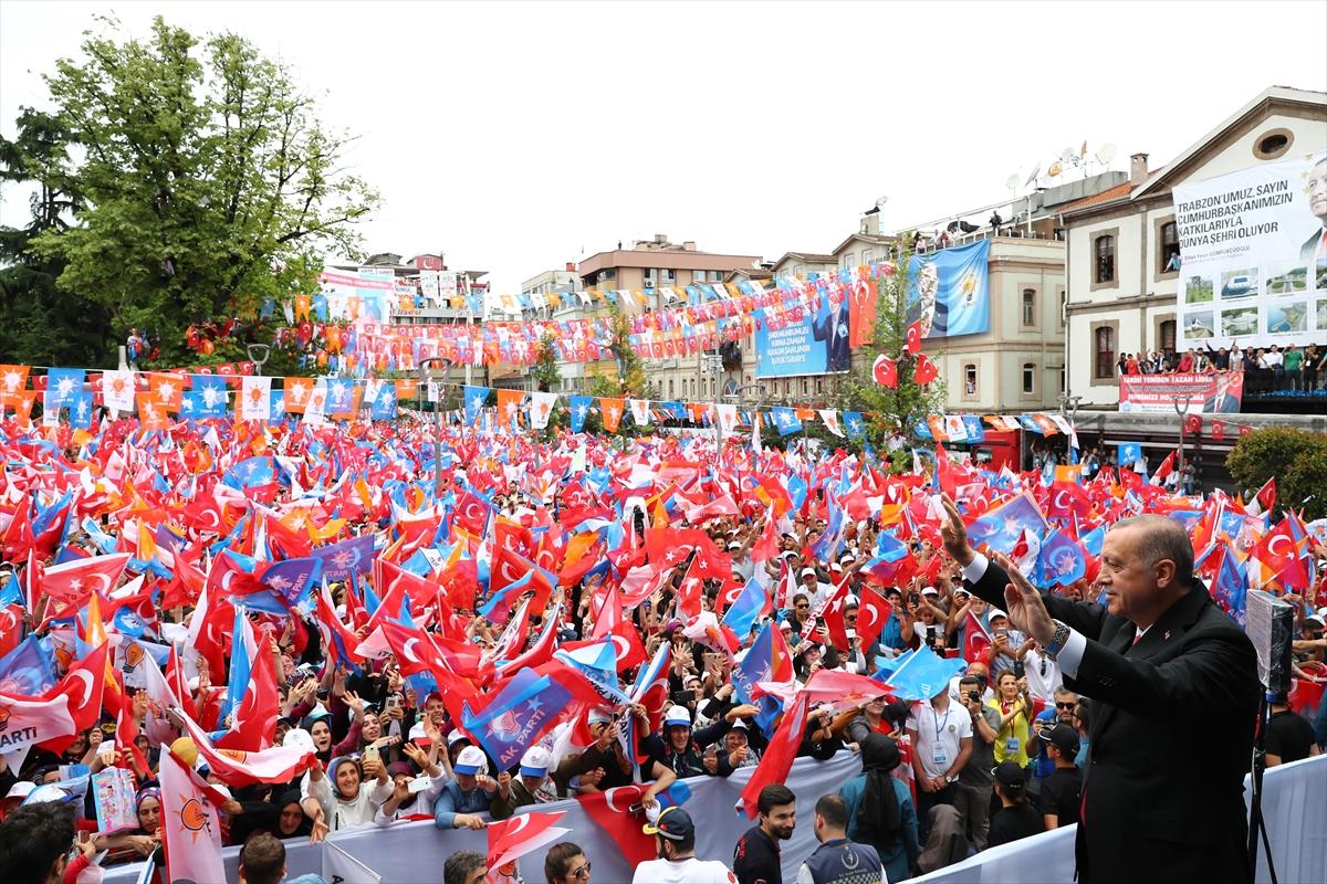 Cumhurbaşkanı Erdoğan Arsin'deki dev projeyi böyle duyurdu!
