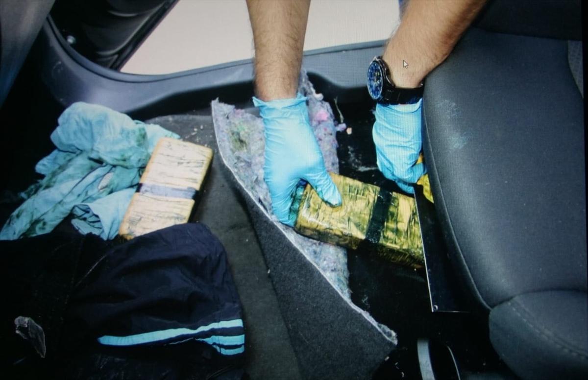 Trabzon'da 40 kilogram eroin ele geçirildi