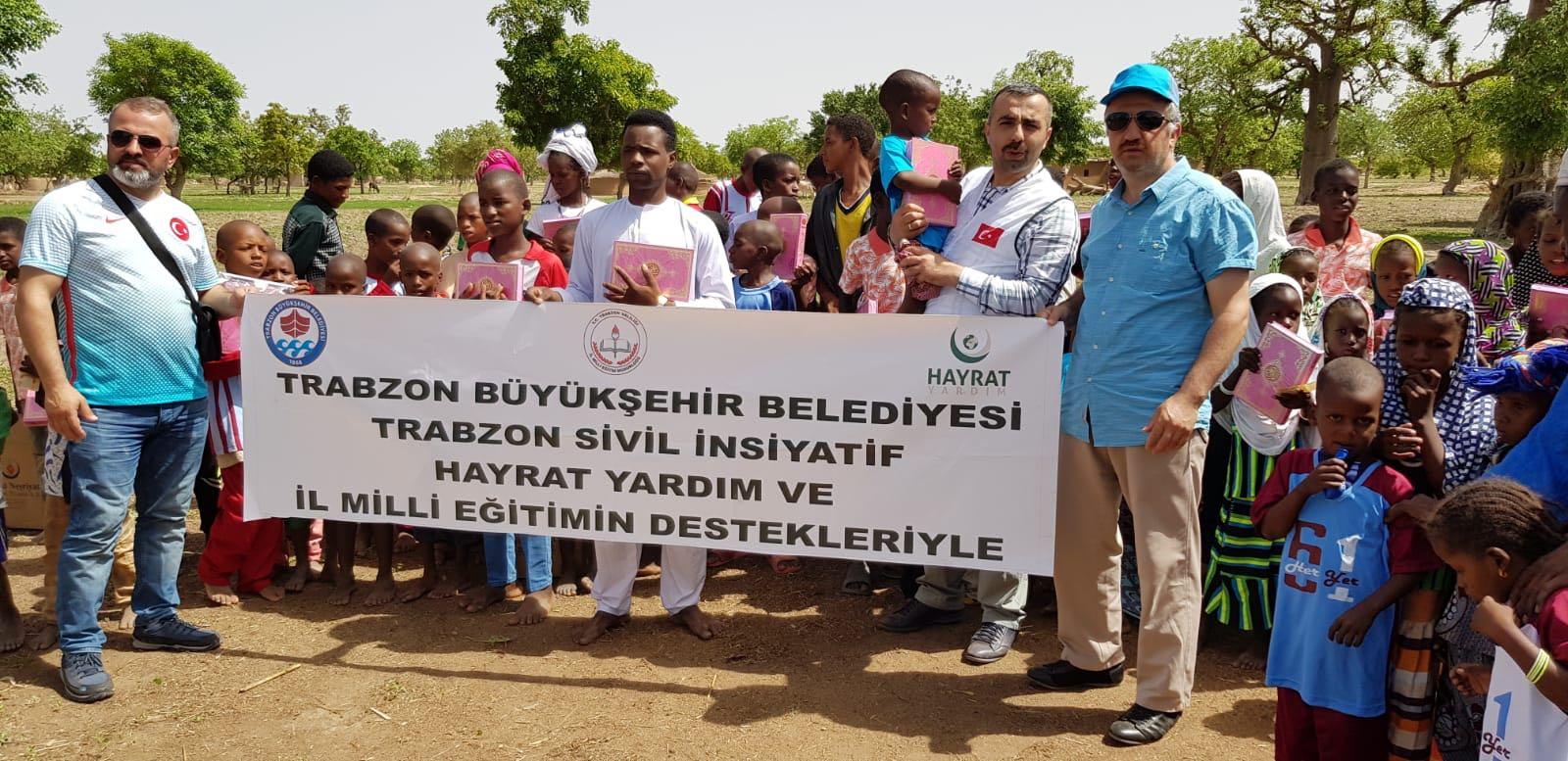 Trabzon'dan Afrika ülkelerine Kur'an-ı Kerim yardımı