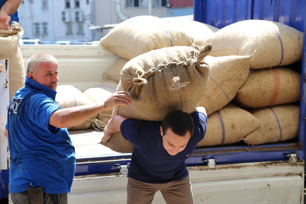 FİSKOBİRLİK TMO'dan 10 bin ton fındığı almaya başladı
