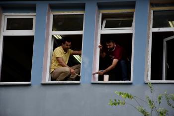 Arsin'de Öğretmenler okulu yeni döneme hazırlıyor