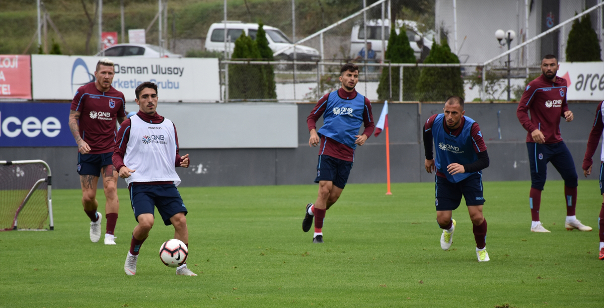 Trabzonspor'da, Göztepe maçı hazırlıkları