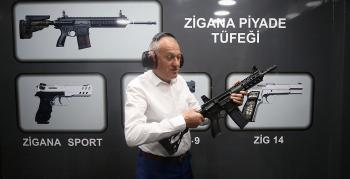 Arsin'de üretilen silahlar 52 ülkeye satılıyor