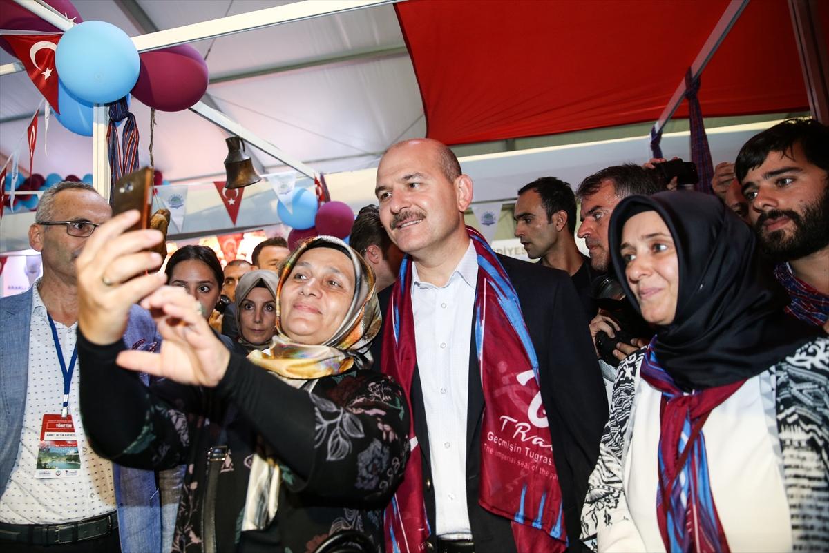 Bakan Soylu 10. Trabzon Günleri etkinliğine katıldı