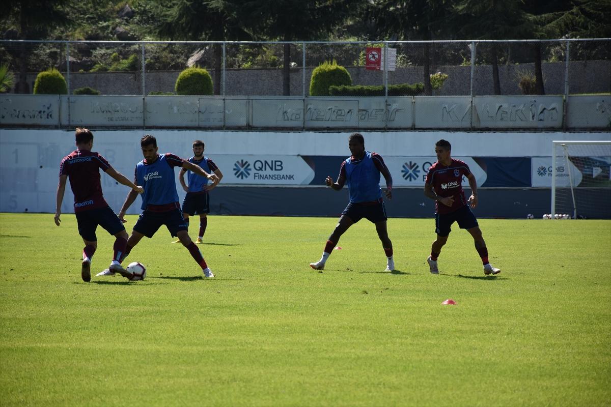 Trabzonspor, Kasımpaşa maçı hazırlıklarını sürdürdü