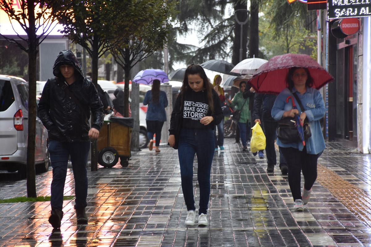 Trabzon ve çevresine kuvvetli yağış uyarısı