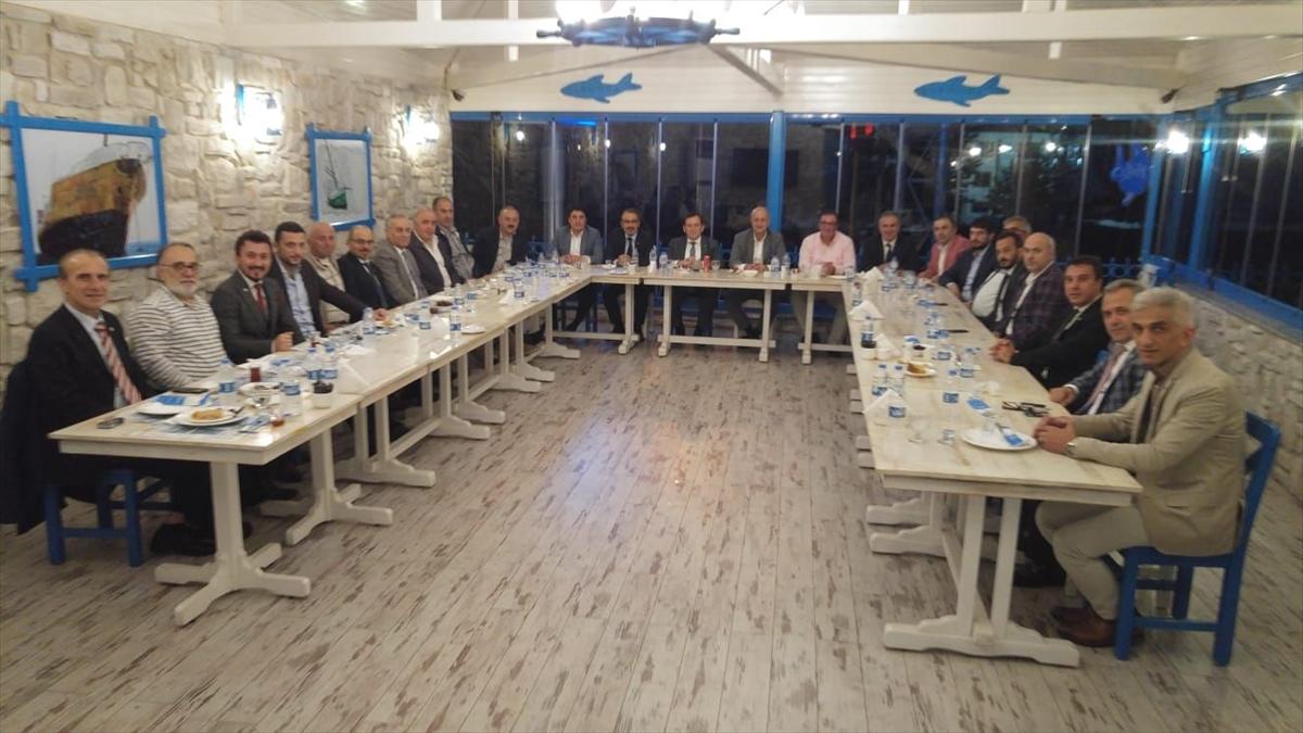 Trabzon'daki oda ve borsa başkanlarının buluşması