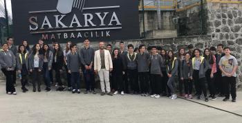 Öğrenciler Arsin OSB'yi ziyaret etti
