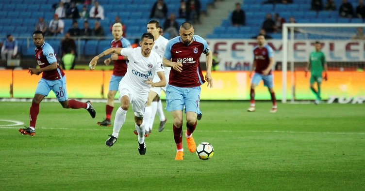 Trabzonspor ile Kasımpaşa 19. randevuda