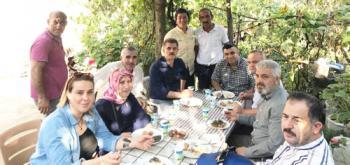 Başkan Şen Hacıları Ziyaret Ediyor