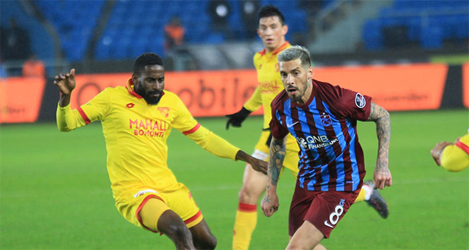 Trabzonspor ile Göztepe 21. randevuda