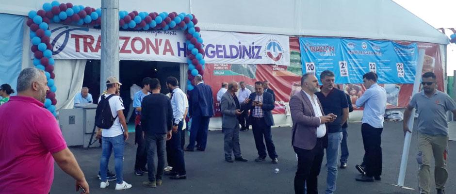 """10. Trabzon Tanıtım Günleri"""" etkinliği, Yenikapı Etkinlik Alanı-İstanbul'da başladı"""