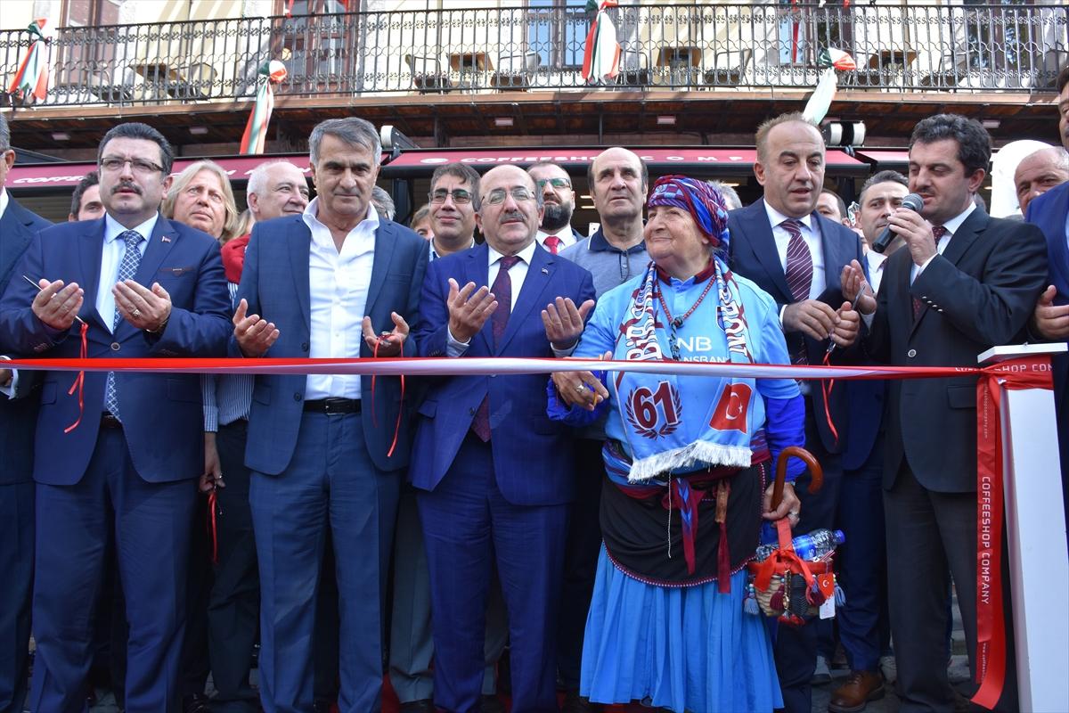 Şenol Güneş, Trabzon'da açılışa katıldı