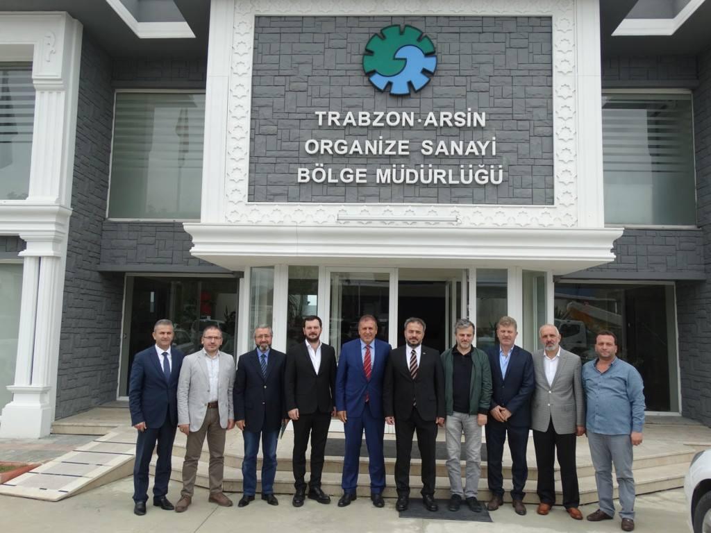 Anadolu Aslanlarından Arsin'e ziyaret