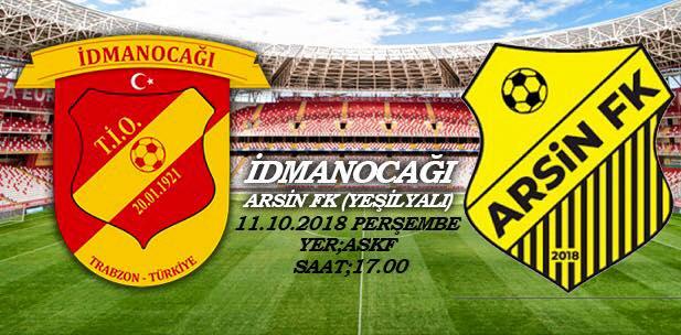 Arsin FK ilk maçına çıkıyor