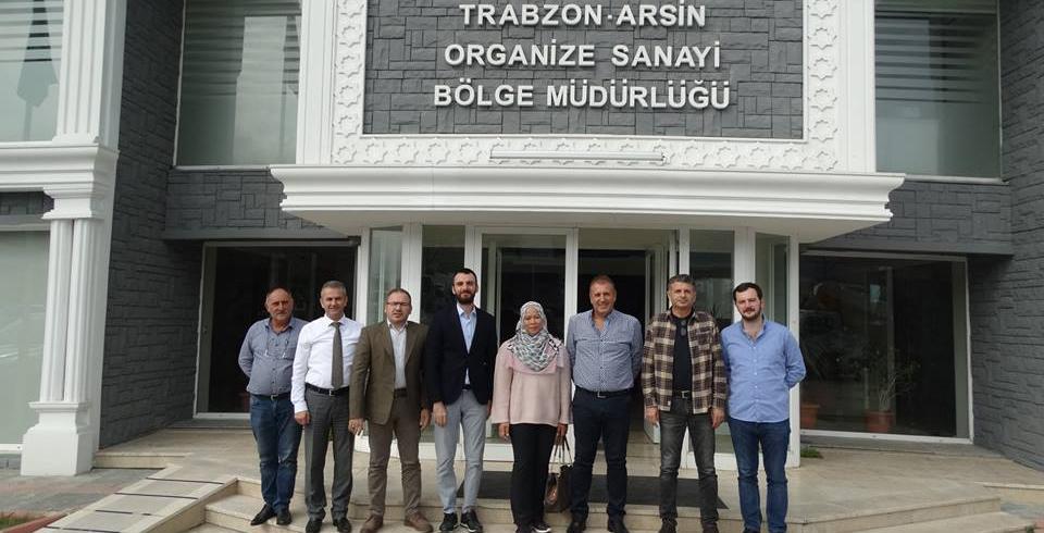 Malezya İş Konsey Heyeti Arsin'i ziyaret etti