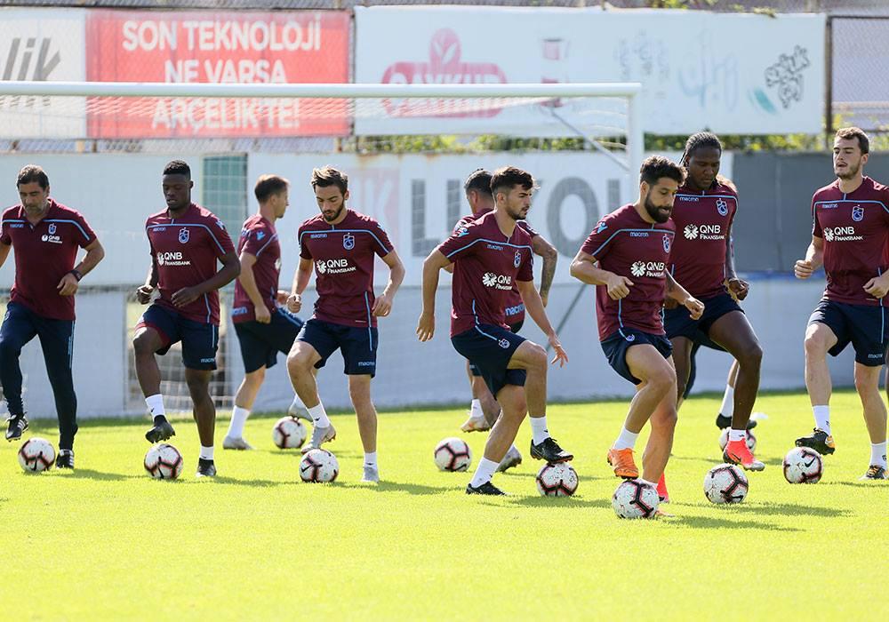 Erzurumspor maçı hazırlıkları devam ediyor