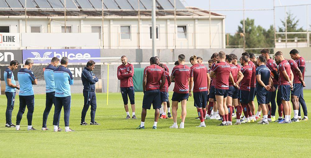 Antalyaspor maçı hazırlıkları başladı