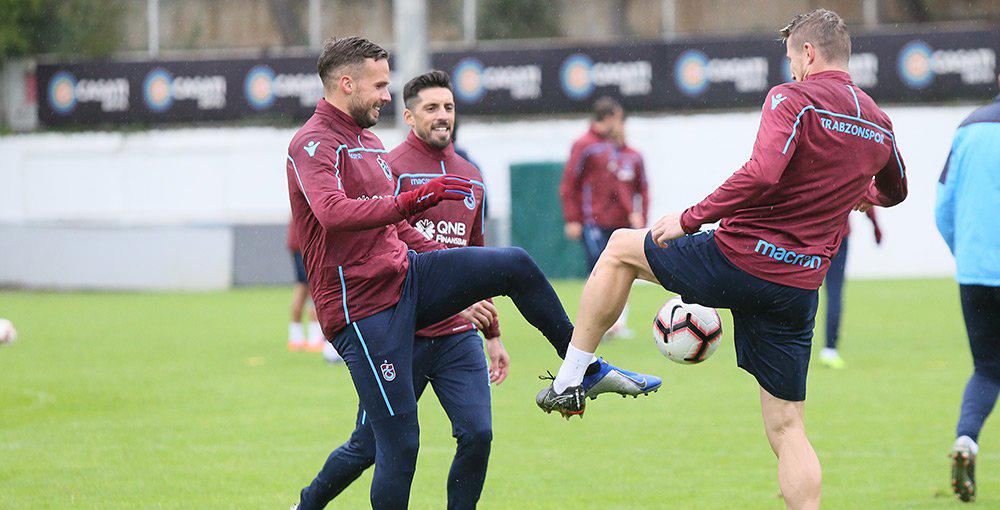 Trabzonspor Antalyaspor maçı hazırlıklarını tamamladı