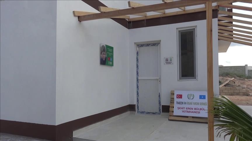 Somali'de 'Eren Bülbül Yetimhanesi' açıldı