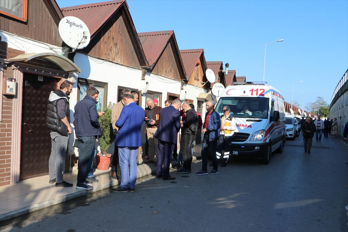 Trabzon'da balıkçı barınağında bir kişi ölü bulundu