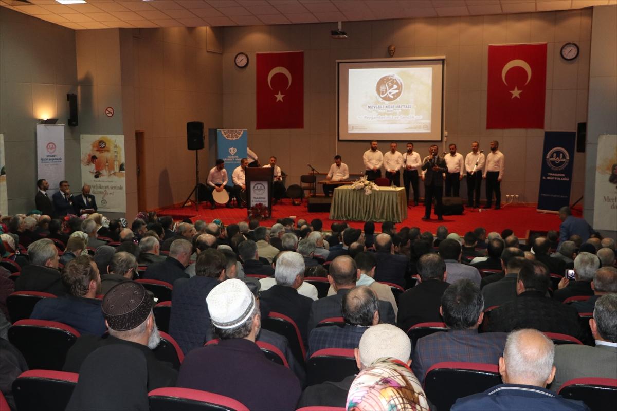 Trabzon'da Mevlid-i Nebi Haftası