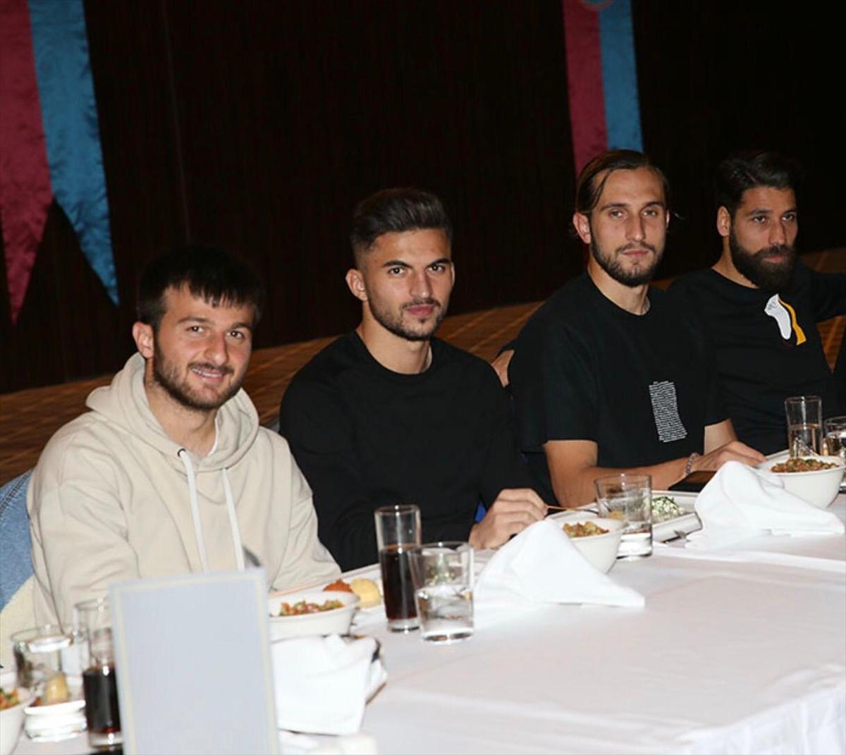 Trabzonspor'da moral yemeği