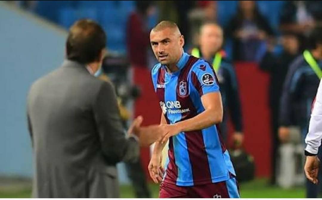 Trabzonspor'un galibiyeti, Burak Yılmaz'a da yaradı!