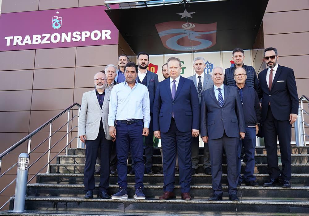 Vali Yücel Yavuz'dan kulübümüze veda ziyareti