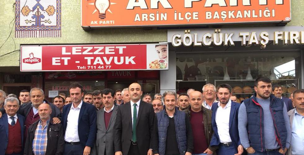 Sedat Özbakır Arsin Aday Adayı