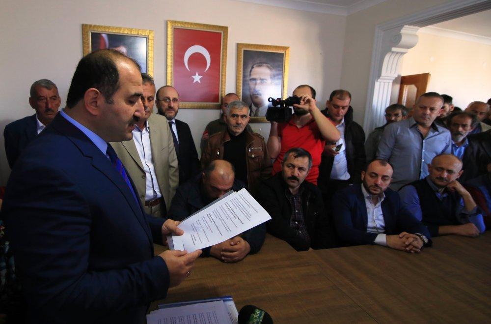 Arsin'de belediye başkan aday adaylığını açıkladı
