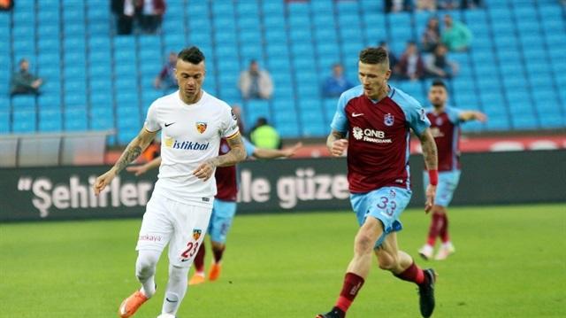 Trabzonspor ile Kayserispor 43. randevuda