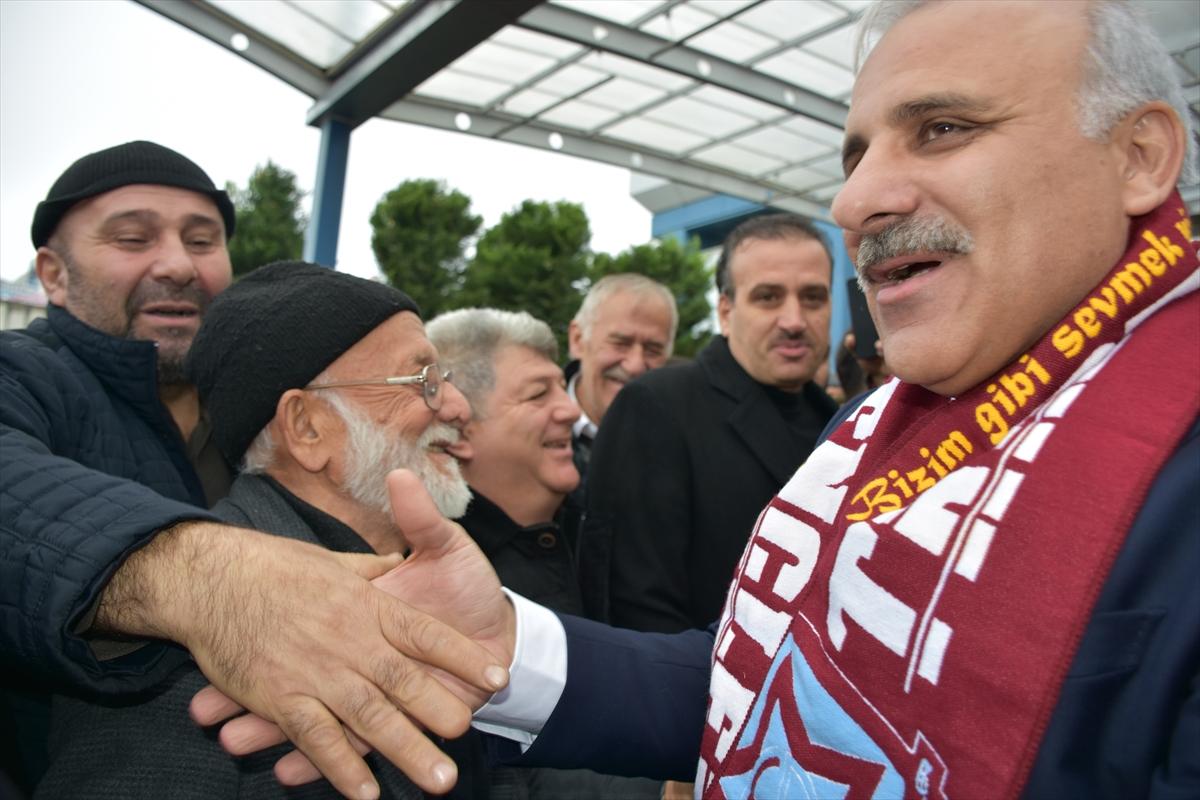 AK Parti adayı Zorluoğlu'na coşkulu karşılama