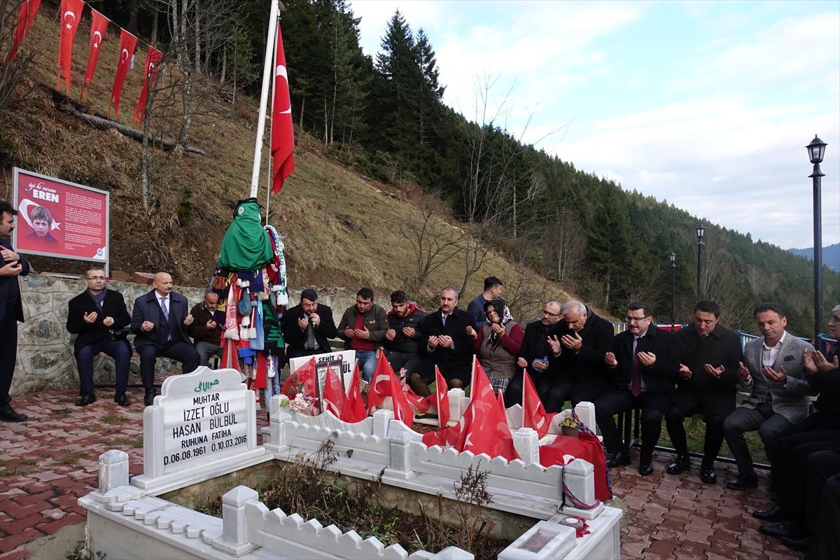 Adalet Bakanı Gül, Trabzon'da