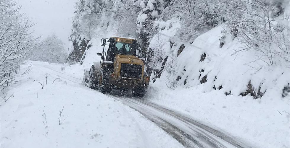 Trabzon'da kar yağışı uyarısı
