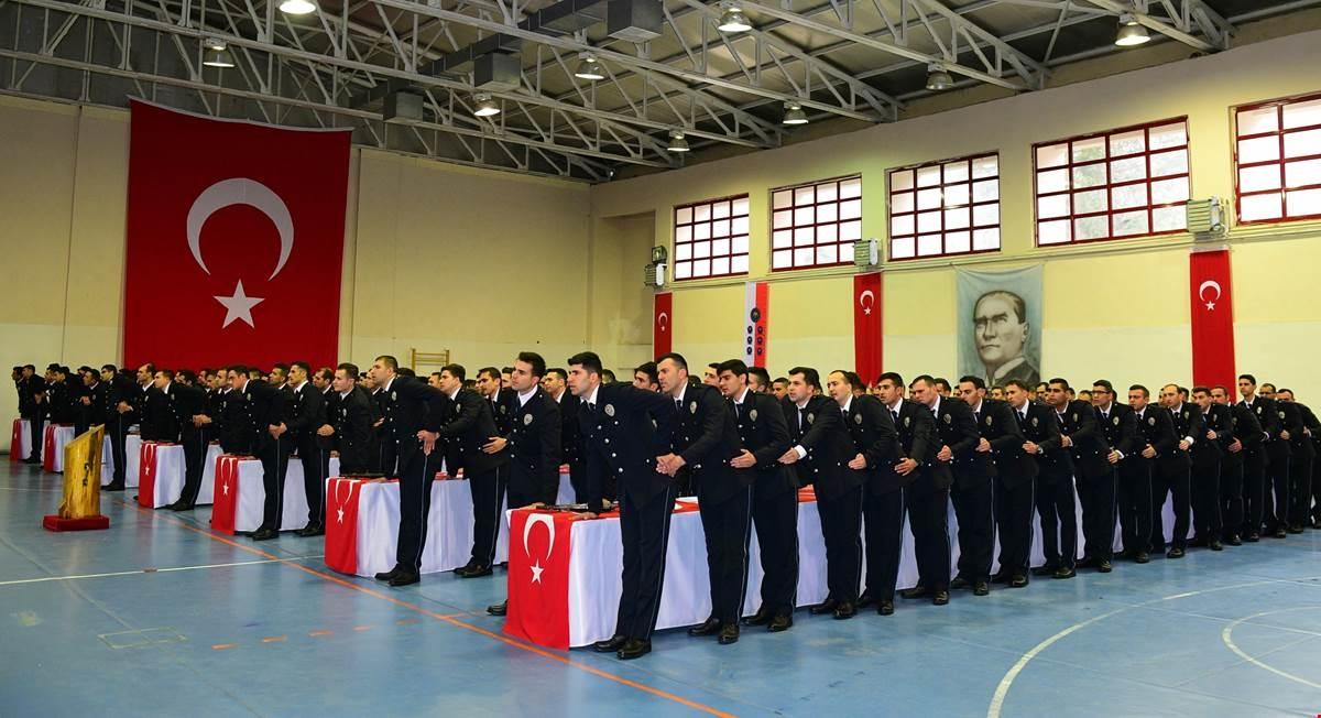 Trabzon POMEM'de mezuniyet heyecanı