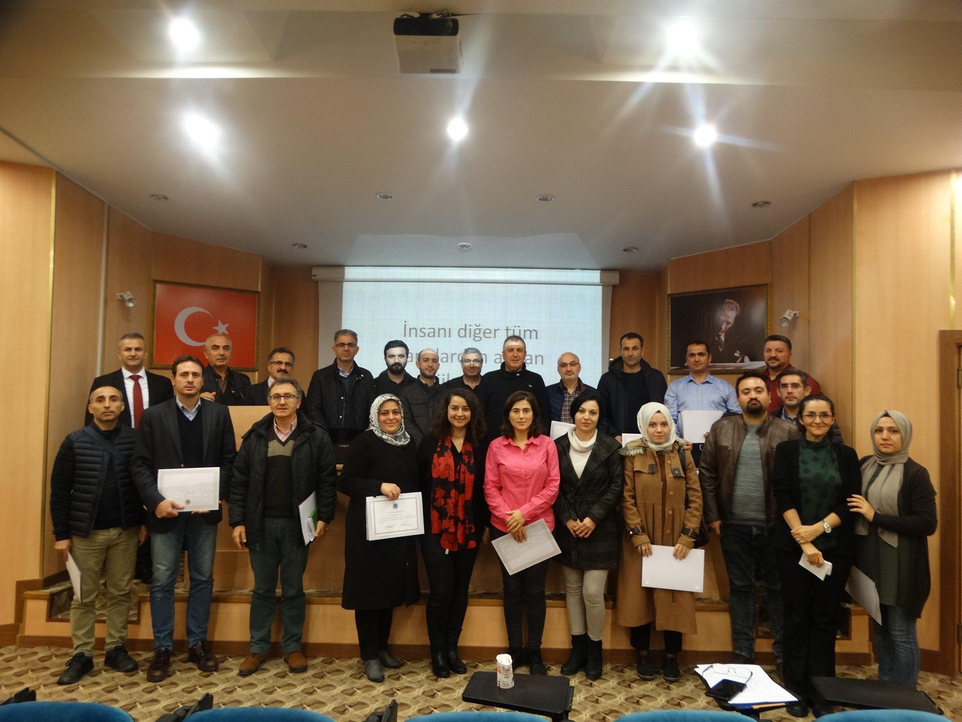 Arsin'de eğitim semineri yapıldı