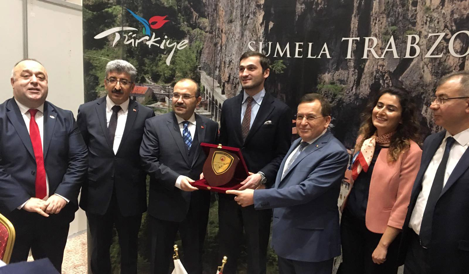 Trabzon inşaat sektörü Batum'da tanıtıldı