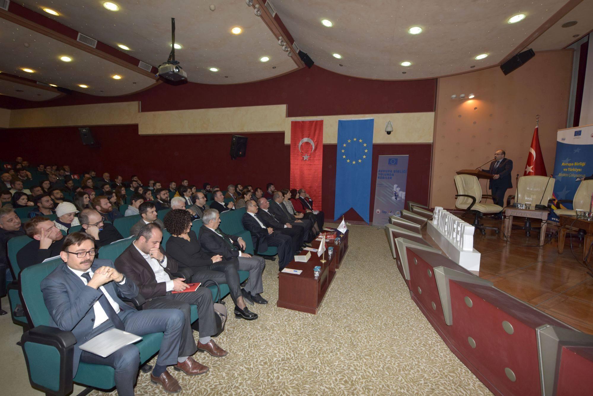 Trabzon'da KOBİ'lere sağlanan destekler anlatıldı