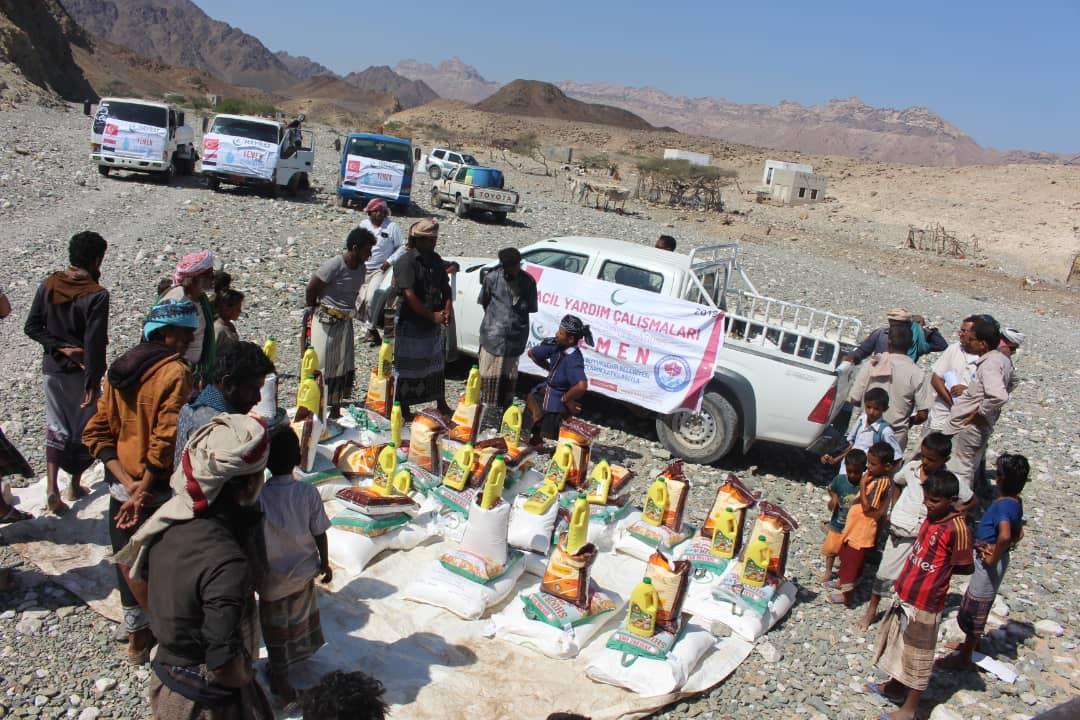 Trabzon'dan Yemen'e gıda yardımı